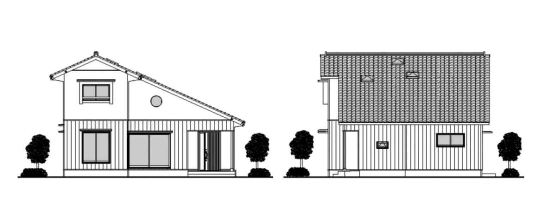 住宅立面図
