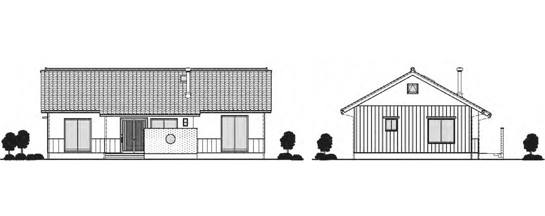 岡山建部の住宅