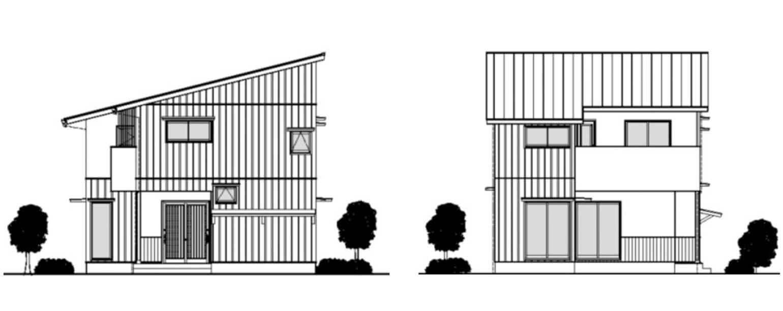 新築住宅立面