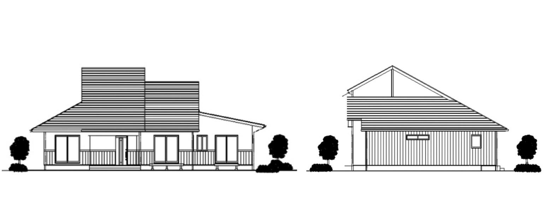 二世帯平屋
