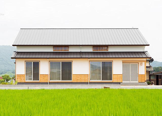 平屋ベースの家